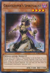 YuGiOh! TCG karta: Gravekeepers Spiritualist