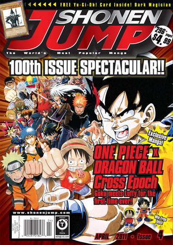<i>Shonen Jump</i> Vol. 9, Issue 4