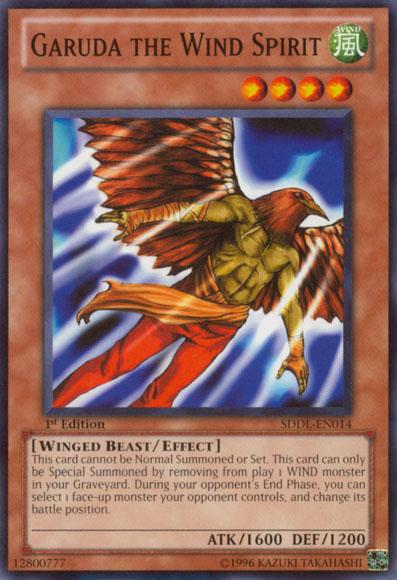 Garuda The Wind Spirit YuGiOh FANDOM Powered By Wikia - Wind spirit