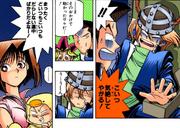 Jonouchi fainted