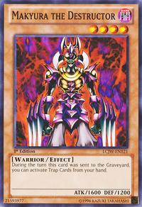 YuGiOh! TCG karta: Makyura the Destructor