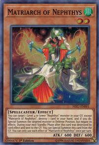 YuGiOh! TCG karta: Matriarch of Nephthys