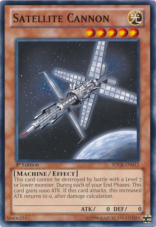 Satellite Cannon Yu Gi Oh Fandom Powered By Wikia