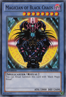Magician of Black Chaos LCYW