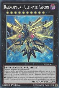YuGiOh! TCG karta: Raidraptor - Ultimate Falcon