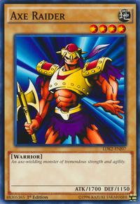 YuGiOh! TCG karta: Axe Raider