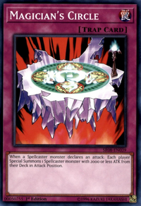 YuGiOh! TCG karta: Magicians Circle