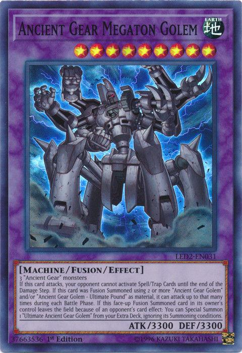 Ancient Gear Megaton Golem | Yu-Gi-Oh! | FANDOM powered by Wikia