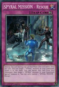YuGiOh! TCG karta: SPYRAL MISSION - Rescue