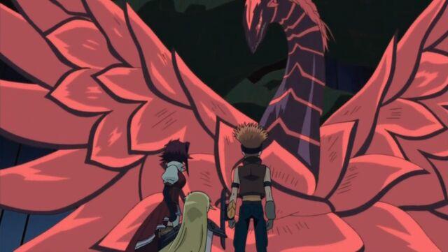 File:5Dx140 Black Rose Dragon saves everyone.jpg