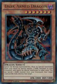 YuGiOh! TCG karta: Dark Armed Dragon