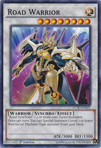 YuGiOh! TCG karta: Road Warrior