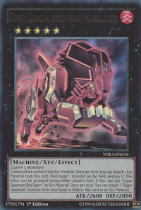 YuGiOh! TCG karta: Super Quantal Mech Beast Magnaliger