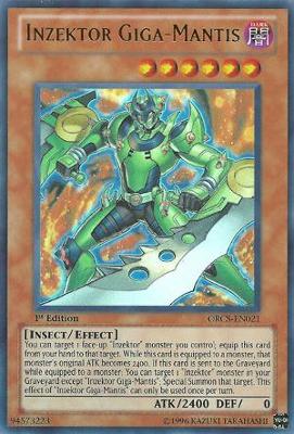 Inzektor Giga Mantis ORCS