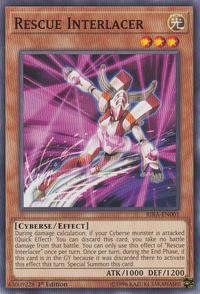 YuGiOh! TCG karta: Rescue Interlacer