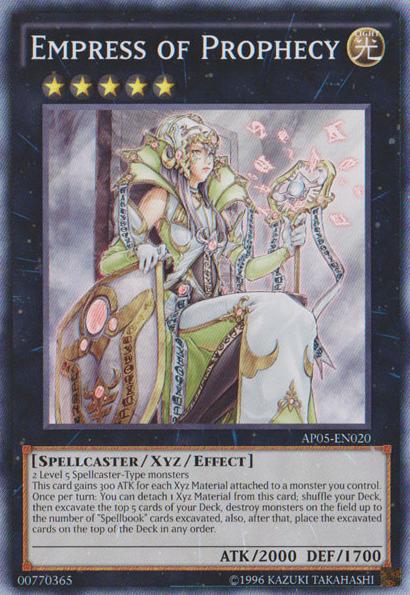 Carte Xyz Incantatore.Empress Of Prophecy Yu Gi Oh Fandom Powered By Wikia