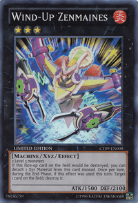 YuGiOh! TCG karta: Wind-Up Zenmaines