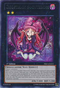 YuGiOh! TCG karta: Ghostrick Socuteboss