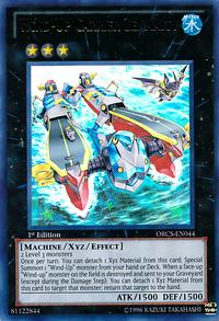 YuGiOh! TCG karta: Wind-Up Carrier Zenmaity
