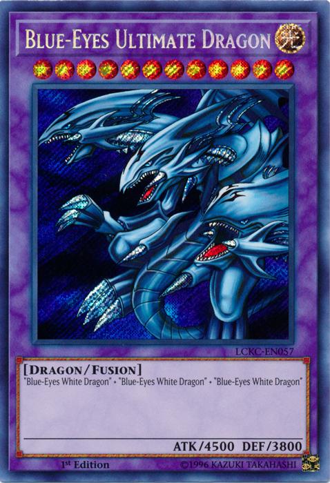 Blue-Eyes Ultimate Dragon | Yu-Gi-Oh! | FANDOM powered by ...