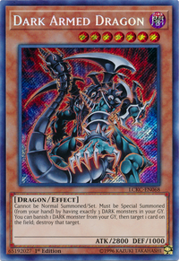 YuGiOh! TCG karta: Dark Armed Dragon