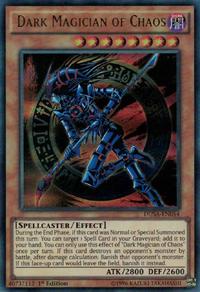 YuGiOh! TCG karta: Dark Magician of Chaos