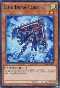 YuGiOh! TCG karta: Link Infra-Flier