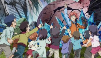 Yu-Gi-Oh! ARC-V - Episode 144