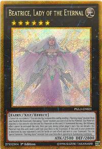 YuGiOh! TCG karta: Beatrice, Lady of the Eternal