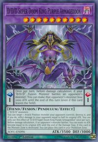 YuGiOh! TCG karta: D/D/D Super Doom King Purple Armageddon