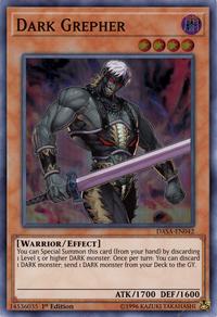 YuGiOh! TCG karta: Dark Grepher
