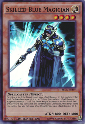 Skilled Blue Magician SECE-ENS