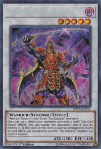 YuGiOh! TCG karta: Legendary Six Samurai - Shi En