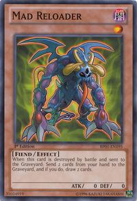 YuGiOh! TCG karta: Mad Reloader