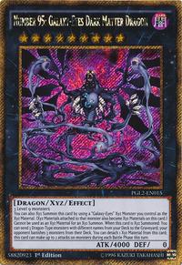 YuGiOh! TCG karta: Number 95: Galaxy-Eyes Dark Matter Dragon