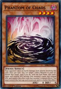 YuGiOh! TCG karta: Phantom of Chaos