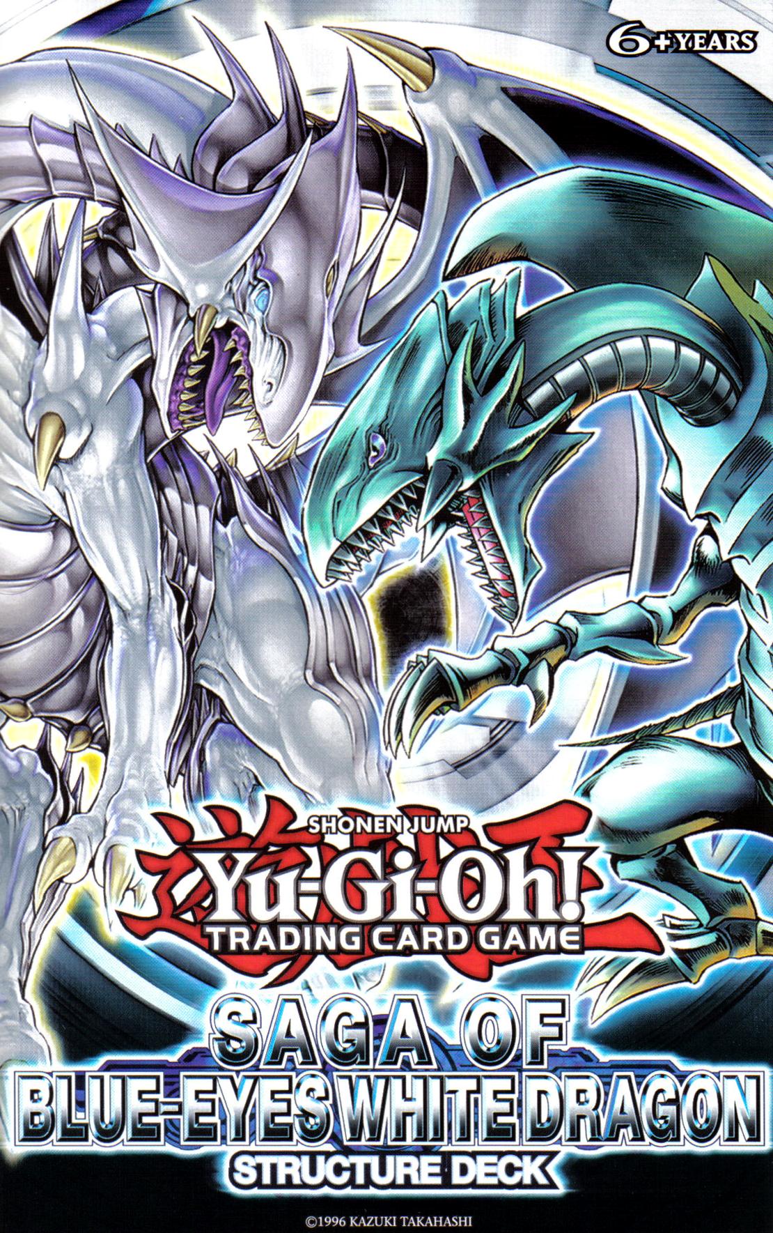 saga of blue eyes white dragon structure deck yu gi oh fandom