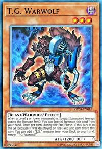 YuGiOh! TCG karta: T.G. Warwolf