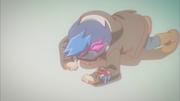 Young Yusaku loses