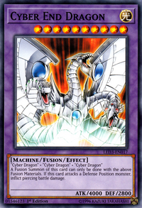 YuGiOh! TCG karta: Cyber End Dragon