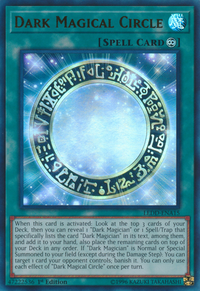 YuGiOh! TCG karta: Dark Magical Circle