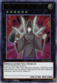 YuGiOh! TCG karta: Norito the Moral Leader