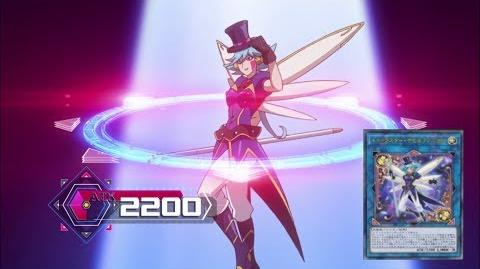 (Eng Subbed) Trickstar Delfiendium Link Summon! トリックスター・デビルフィニウム (Aoi Zaizen Blue Angel 財前 葵)