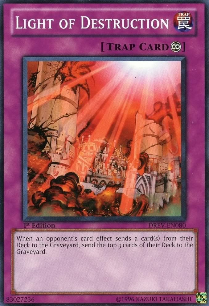 Light of Destruction (card) | Yu-Gi-Oh! | FANDOM powered by Wikia