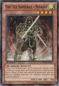 YuGiOh! TCG karta: The Six Samurai - Nisashi