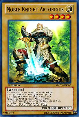Noble Knight Artorigus GAOV