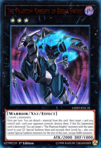 YuGiOh! TCG karta: The Phantom Knights of Break Sword