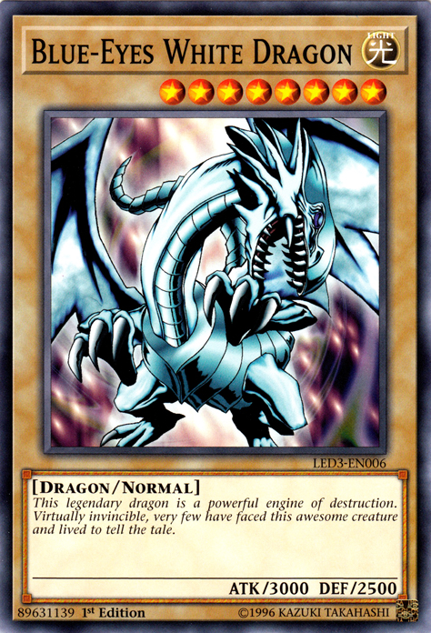 Blue-Eyes White Dragon | Yu-Gi-Oh! | FANDOM powered by Wikia
