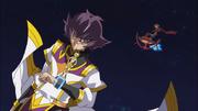 Jin and Lightning flee