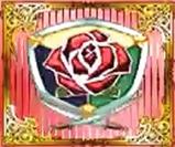 Red rose emblem